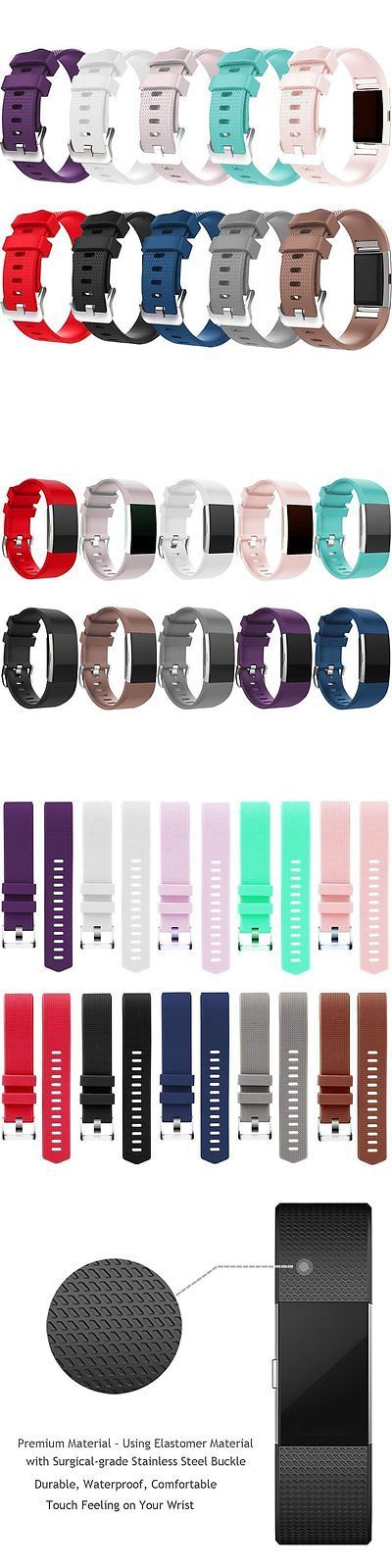 Fit Tech Parts and Accessories 179799: Mega Color 10 Pack Large Wristband Band Strap Bracelet For Fitbit Charge 2 -> BUY IT NOW ONLY: $42.18 on eBay!
