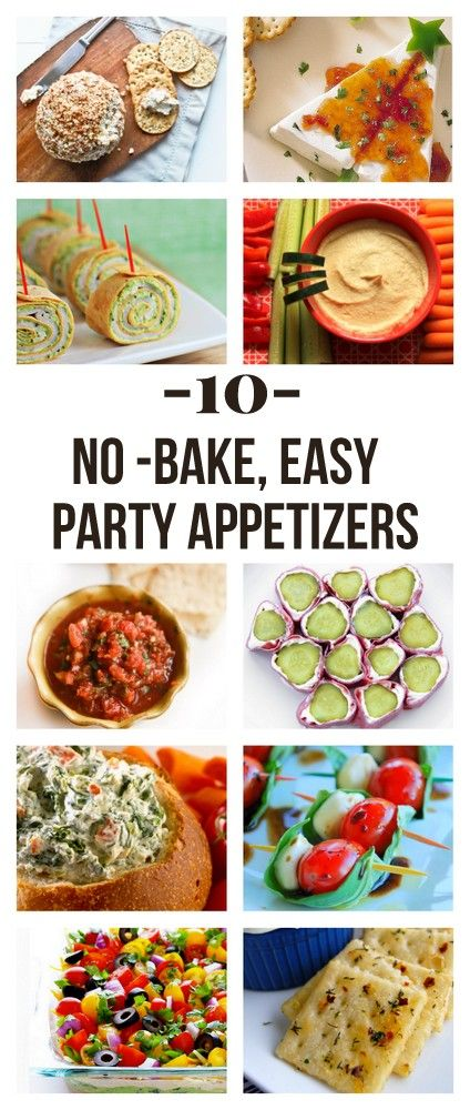 the easiest (no bake!) holiday appetizers