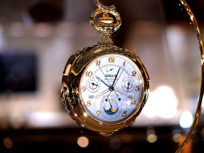 Henry graves supercomplication Taschenuhr