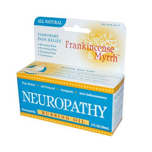 Frankincense and Myrrh Neuropathy Rubbing Oil (1x2 fl Oz)