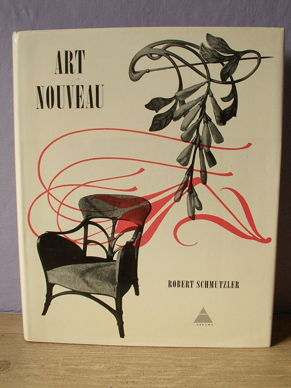 Vintage Art Nouveau Book By Robert Schmutzler ShoponSherman