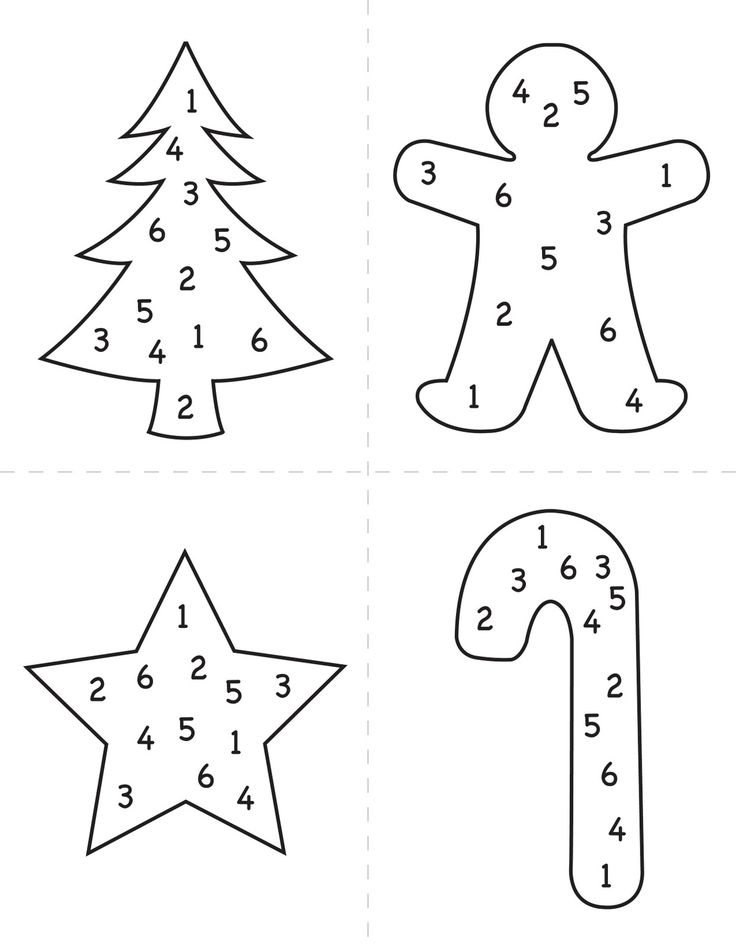 The Blue Basket: Christmas dice game