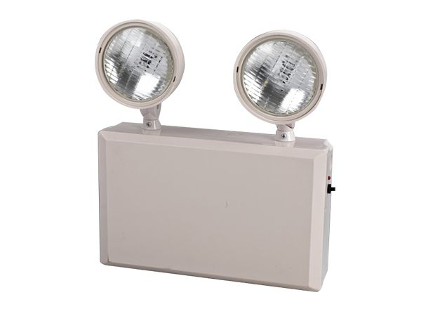 These Dual Head Emergency Lights Can Be Illuminated By Using