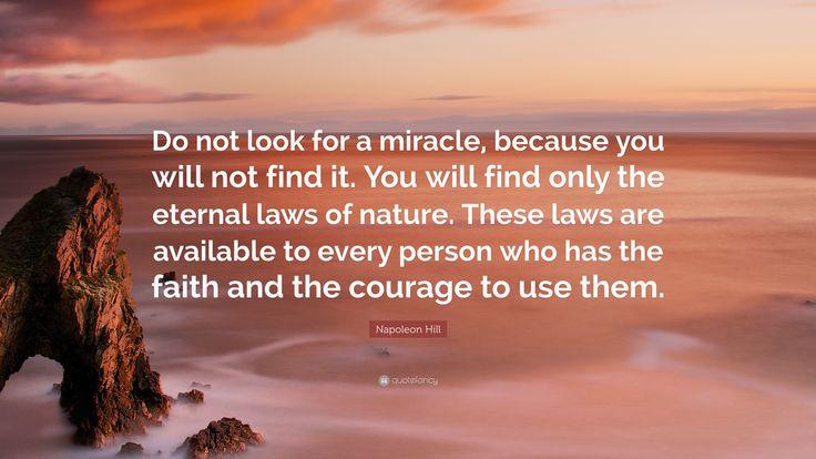 Imagini pentru miracle laws of nature