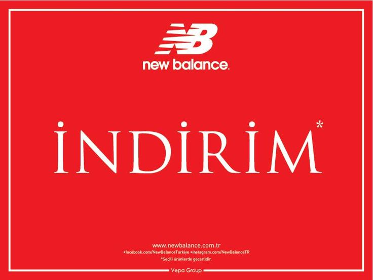 New Balance'da İndirim! New Balance Türkiye #ANKAmall 'da!