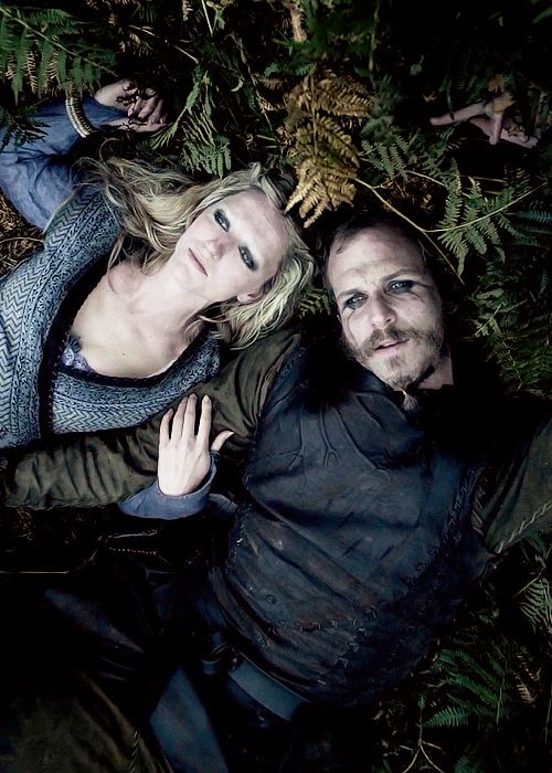 Helga and Floki sitting in a tree.........For more Viking facts please follow and check out www.vikingfacts.com don't forget to support and follow the original Pinner/creator. Thx