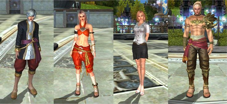 New costumes in Divine Souls :)