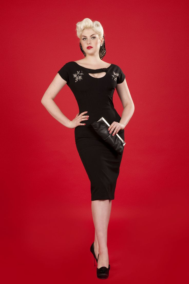 the sierra is gorgeous in person definitely my favorite wiggle dress at bettie page black. Black Bedroom Furniture Sets. Home Design Ideas