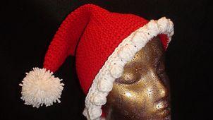 Free Crochet Pixie Hat Pattern.Santa Hats, Free Crochet, Crochet Pixie, Crochet Hats, Crochet Geek, Pixie Hats, Knits Hats, Hats Pattern, Crochet Pattern