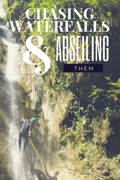 Chasing Waterfalls and Abseiling them in Nepal at The Last Resort - Canyoning