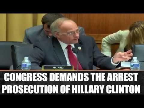 BREAKING: CONGRESS DEMANDS THE ARREST OF HILLARY CLINTON - YouTube