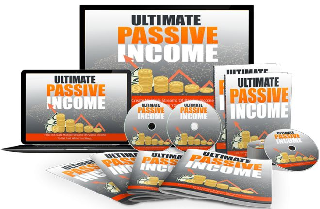 Ultimate Passive Income. Earning a truly passive income is the end goal of the vast majority of internet marketers and you could very easily consider it to be an absolutely ideal situation in terms of finances and business.  What is passive income? Simple: it means that you earn money without having to work.