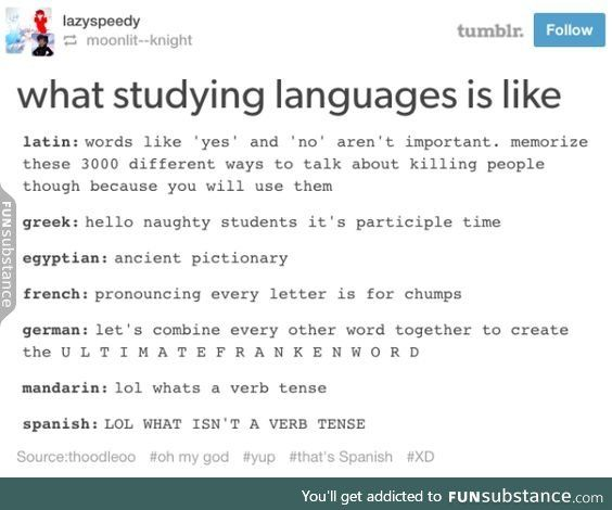 Studying languages<<<Not sure about the others but German is 100% accurate<<ALL are 100% accurate.