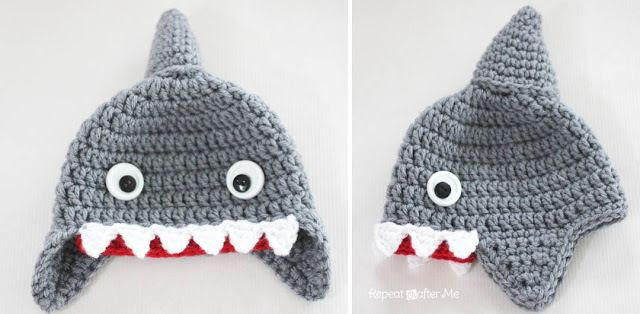A few weeks ago, I made myself a little goldfish to put in a plastic fish bowl for my grandson. My boyfriend saidhe wanted one for his desk, but I decided he needed a shark instead. I worked up th…