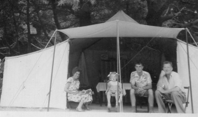 New Zealand Summer Camping in the 1950s - Persona Paper
