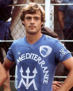 Johnny Rep, born 25 November 1951, Dutch right winger, Ajax Amsterdam (1971-1975), Valence CF (1975-1977), SC Bastia (1977-1979), Saint-Etienne (1979-1983), PEC Zwolle (1983-1984), Feyenoord (1984-1986), HFC Haarlem (1986-1987).