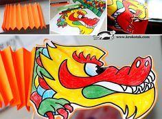 Paper Dragon from Krokotak