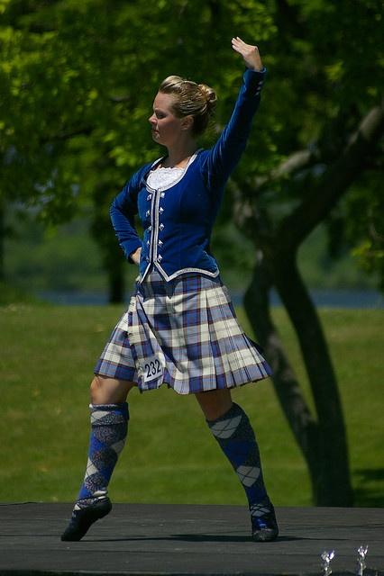 Kilt with royal blue jacket #edinburgh #blue #tartan
