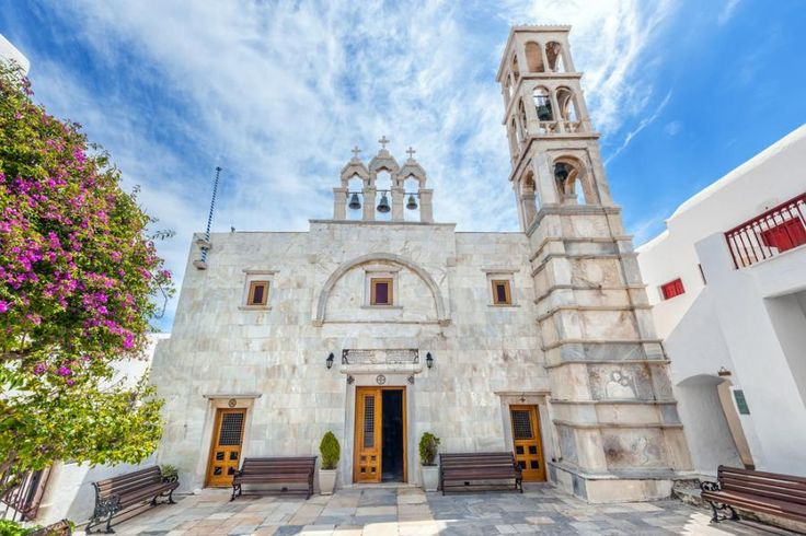 Walk along the surreal white roads of Mykonos. Visit the idyllic village of Ano Mera with Tourboks!