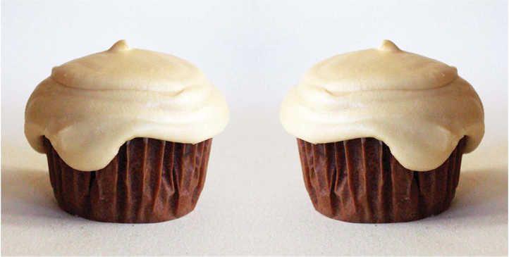 Coffee Chocolate Cupcakes with Baileys Irish Cream Frosting