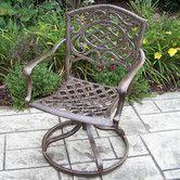 Found it at Wayfair - Mississippi Swivel Rocker Chair