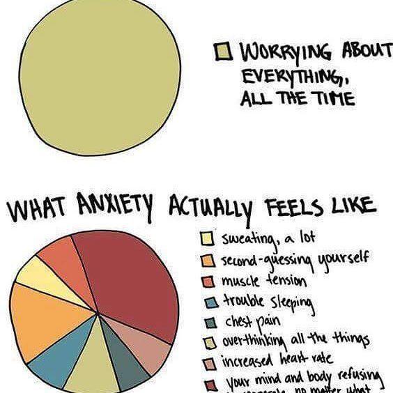 This. #Anxiety #PanicDisorder #PTSD #CPTSD #PTS #PostTraumaticStressDisorder #PTSDAwareness #MentalHealth #MentalIllness #Depression #Stress #Meme #Infographic #Wisdom #TheMoreYouKnow
