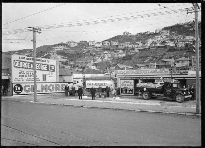 Burke's Garage, Coutts Street, Kilbirnie, Wellington