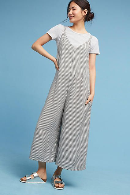 Lacausa Striped Santi Jumpsuit