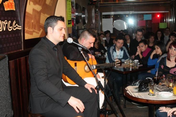 Iñigo Ruiz Cantaor. Concierto de flamenco en el LORCA.