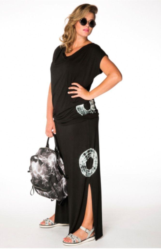lange zwarte rok, yoek, grote maten, signagrotematen