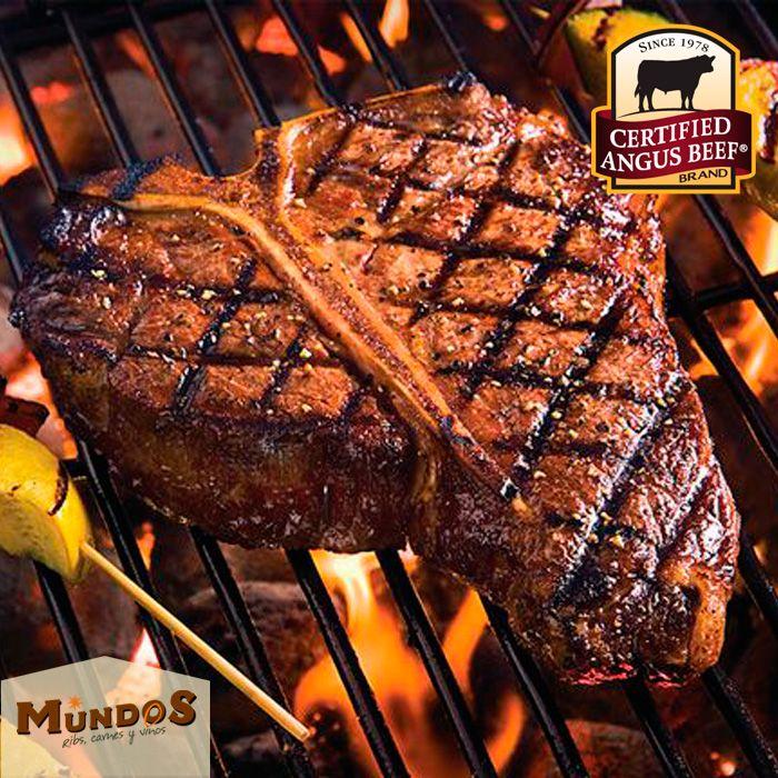 #CertifiedAngusBeef y el proceso #DryEdge de #MundosRestaurante hacen la mejor carne delmundo.Reserva en el tel. 5371835 o enwww.mundos.com.co