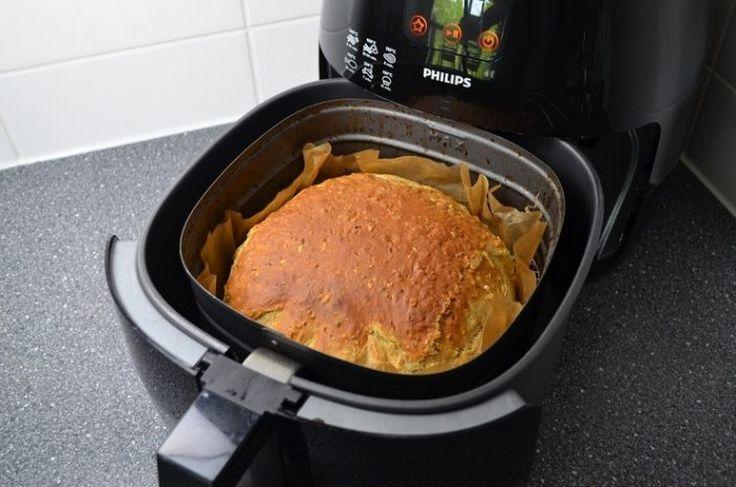 Voor nog geen 50 cent maak je zelf heerlijk brood in de Airfryer! Lekker vers & gezond!