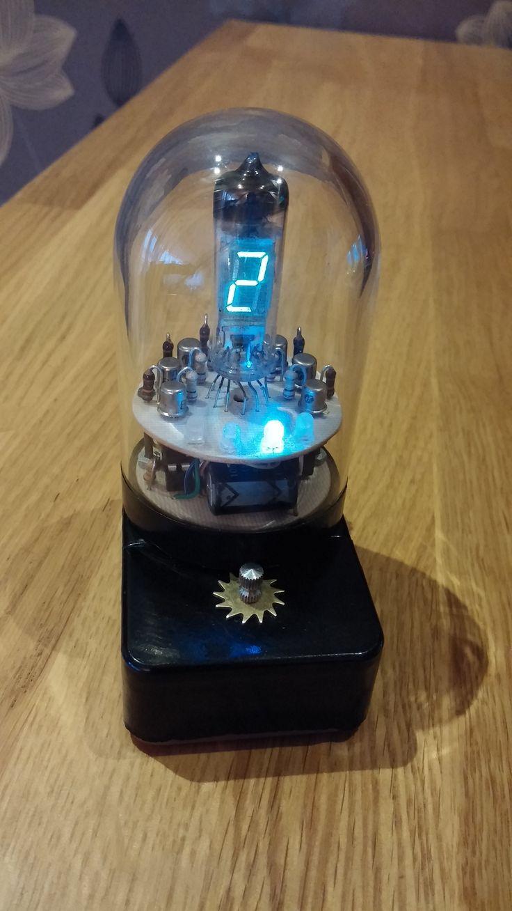 Single VFD clock