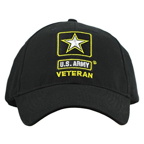 US Army Star Veteran Hat Men Women, Army Caps, Military Gifts, Military Collectibles