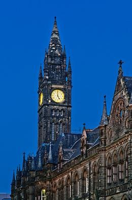 Town Hall Clock, Middlesbrough © Kath Featherstone 2011