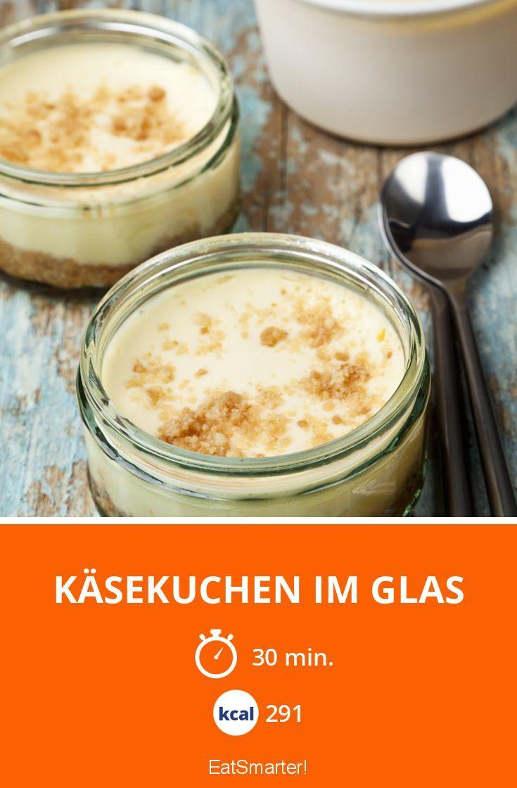 Käsekuchen im Glas