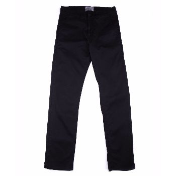 Velour Velour - Black Adan Pants: Velour's renowned classic chino Adan with just the right mix of stretch for that effortless feeling. The chino fabric means that it is constructed of diagonal, parallel ribs. This structure gives the chino cloth its heavy duty strength while also allowing it to drape well.