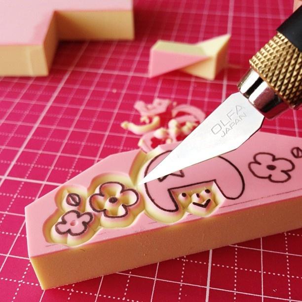 Best images about eraser stamp carving on pinterest