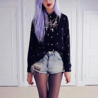 Rock violett