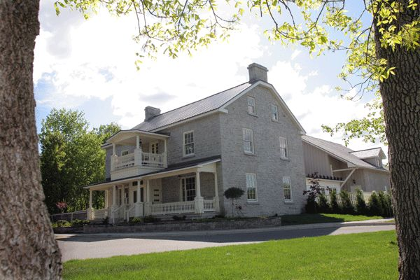 Rustic charm and elegance exudes from our 18th Century Farm House / The SPA Day Retreat in Kanata, Ontario