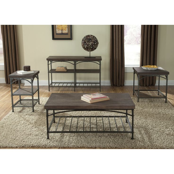 Wildon Home ® Industrial Coffee Table