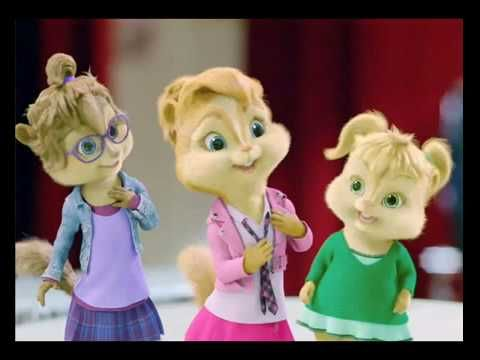 Justin Bieber Baby Chipmunks (Brooklyn will love this)