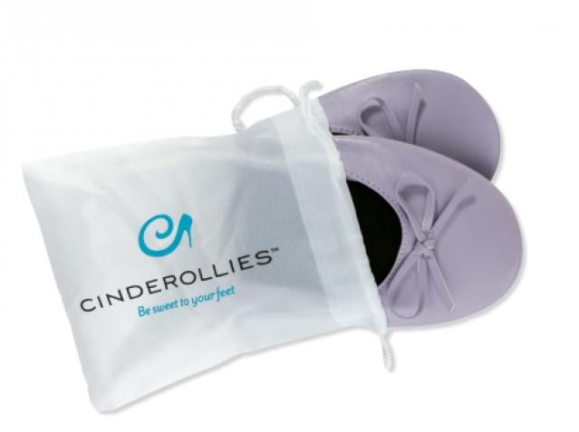 Cinderollies foldable ballet flats - perfect as bridesmaid gifts and wedding favors - as seen on the TODAY show.  www.cinderollies.com