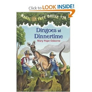 Dingoes at Dinnertime (Magic Tree House, No. 20) - We finished this tonight and it was another good one!