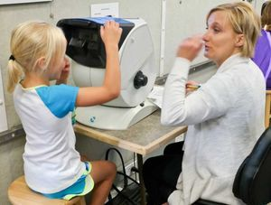 Oakland #LionsClub provides health screenings for local students