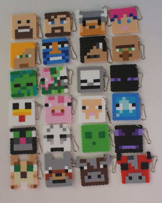 Game inspired 24 pcs perler beads party favor by PixelParty14