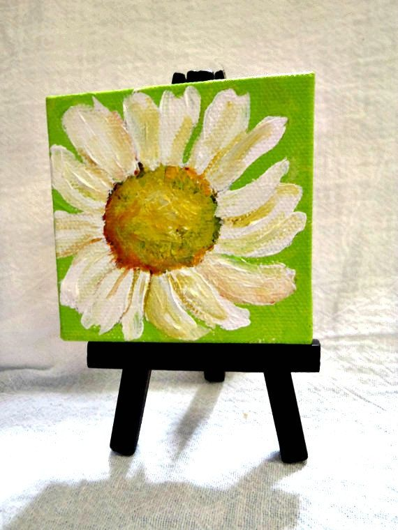 Canvas Painting Green