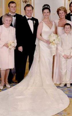 Свадебное платье кэтрин зеты джонс фото