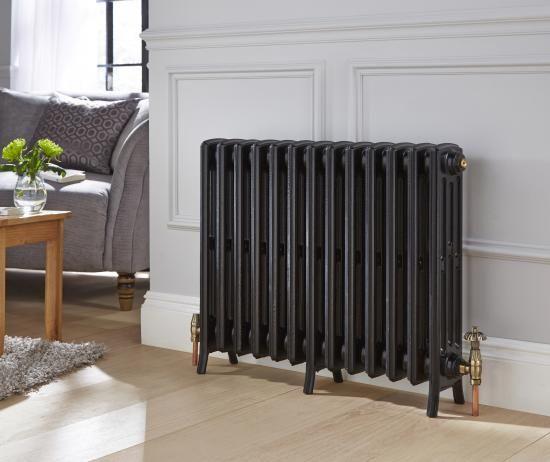 Ironbridge 4 column cast-iron radiator, Ironbridge cast-iron radiator - Holloways of Ludlow