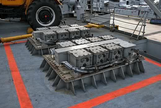 Anuncían modernización de destructores Meko 360 y corbetas Meko 140 -   Celdas de misil Barak 8